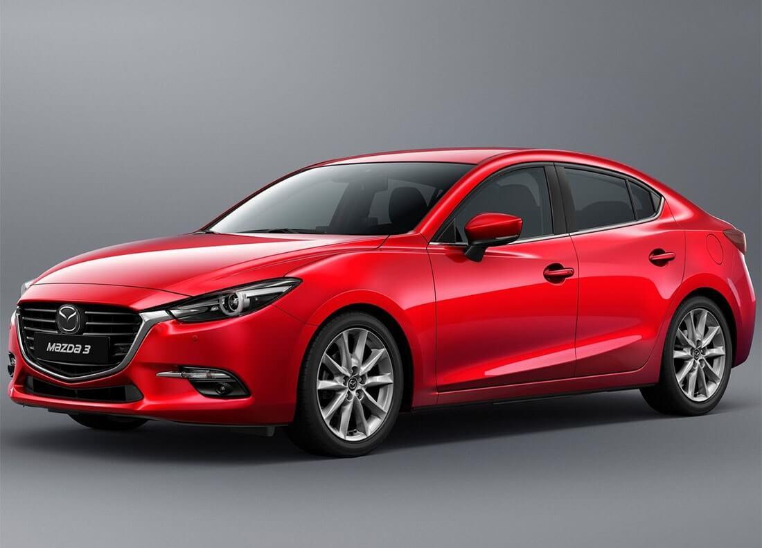 Рестайлинг Mazda 3 2016-2017