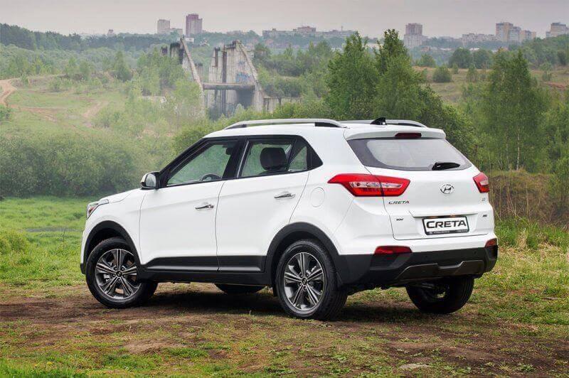 Новый бюджетный кроссовер Hyundai Creta 2016-2017