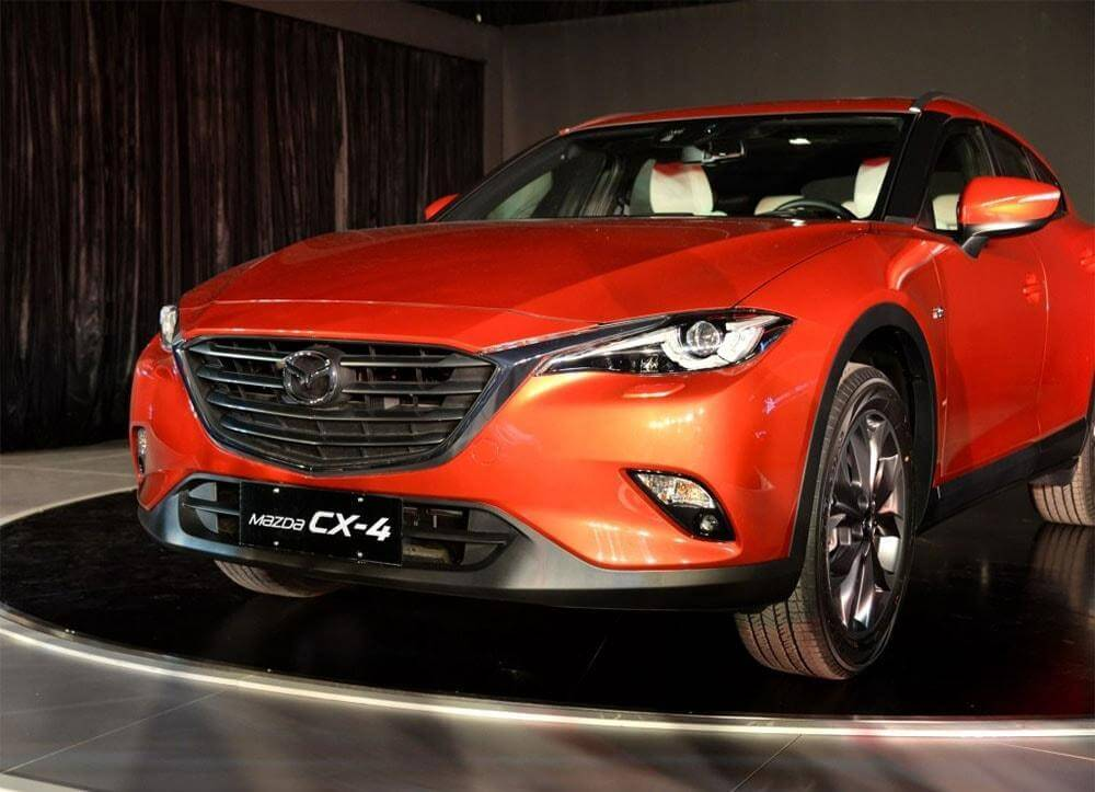 Mazda CX-4 2016-2017 – новинка от азиатских друзей.