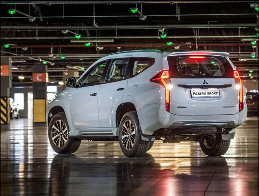 Новый Mitsubishi Pajero sport 2016-2017 начали продавать в России