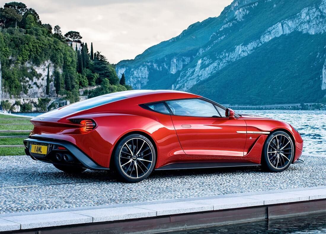 Новый Aston Martin Vanquish для 99 избранных покупателей.