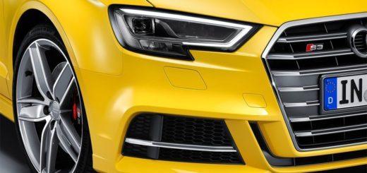 Audi A3 2017-2018 года