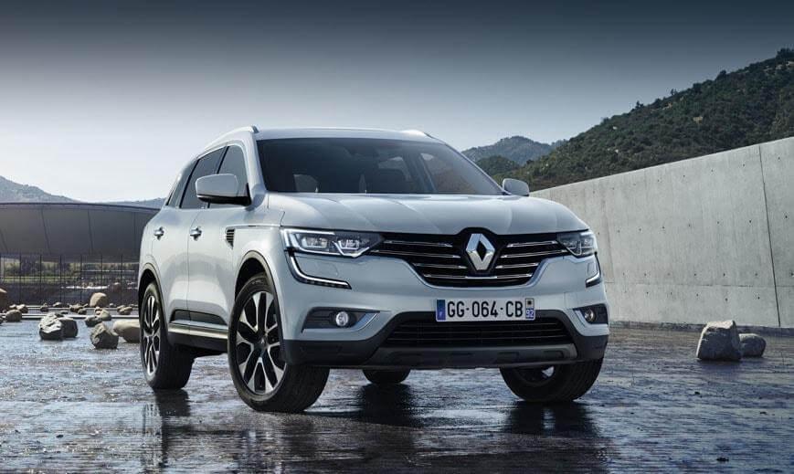 Renault Koleos 2016-2017 обновление заурядного кроссовера