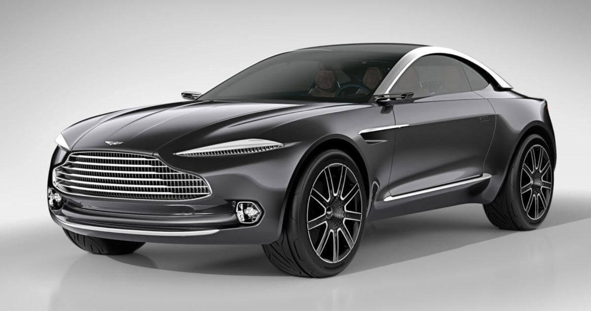 Aston Martin выпустит свой первый кроссовер.