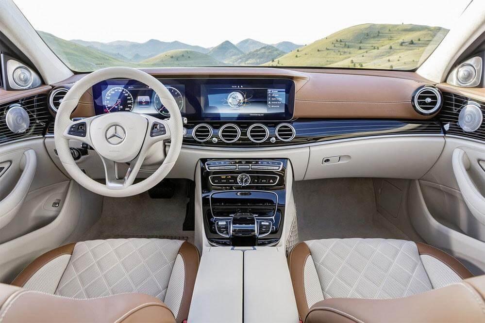 Обновленный Mercedes-Benz E-Class 2016-2017