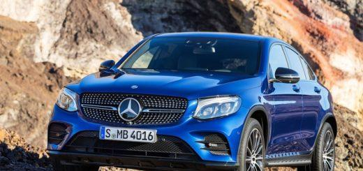 Mercedes-Benz GLC Coupe 2017 на премьере в Нью-Йорке