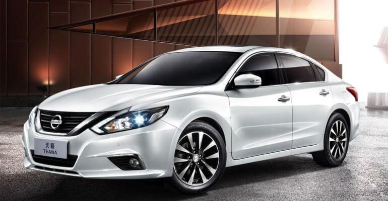 Новый Nissan Teana 2016-2017 начнёт продажи на азиатском рынке