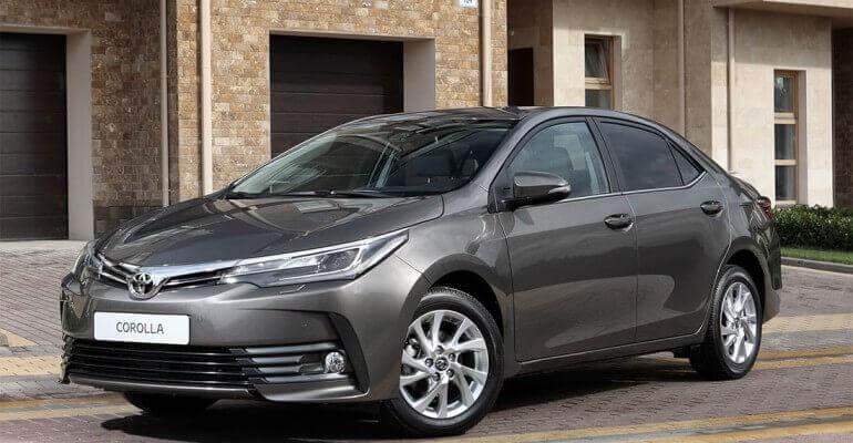 Новая Toyota Corolla 2017