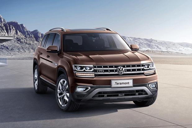 Новый Volkswagen Teramont (Atlas) обзор автомобиля