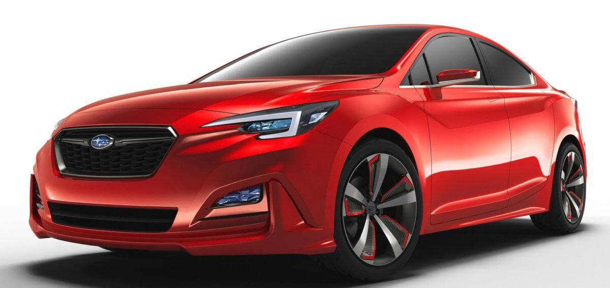 Новая Subaru Impreza 2017 года